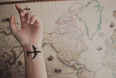 Ahh, to travelTattoo Ideas, Wrist Tattoo, Buckets Lists, Wristtattoo, Have A Nice Trip, Airplanes Tattoo, A Tattoo, New Tattoo, Travel Tattoo