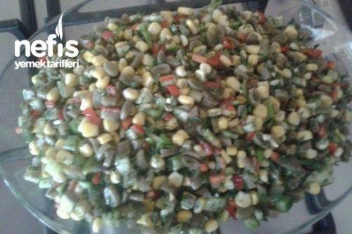 Fasulye Turşusu Salatası Tarifi