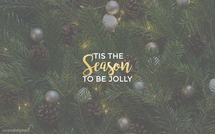 Candidly Kerri - Christmas 2016 Desktop Wallpaper