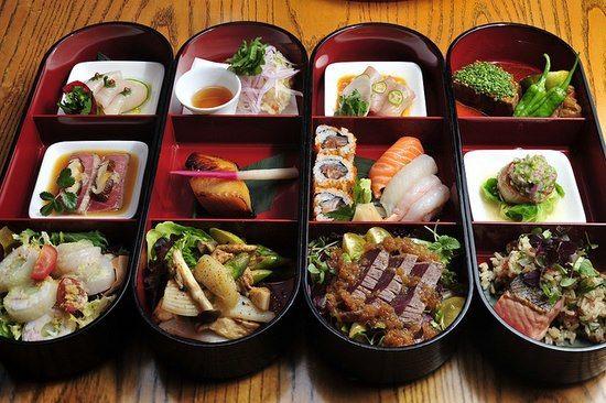 Nobu Lunch Box signature menu