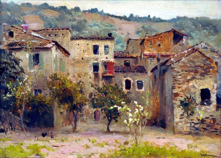 Близ Бордигеры. На севере Италии1. 1890. Исаак Ильич Левитан.