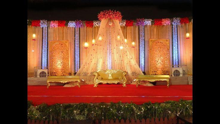 Wedding stage decor is much need nowadays #bookeventz #wedding #marriage #stage #decor #decoration