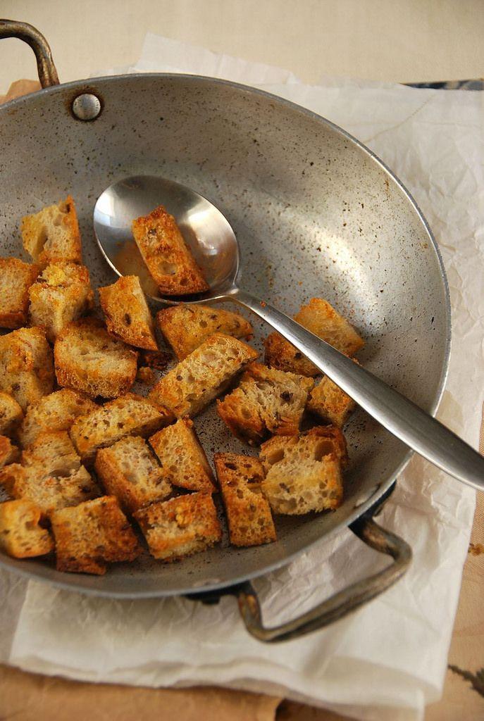 Faire ses croutons maison - Recette facile, rapide et vegane