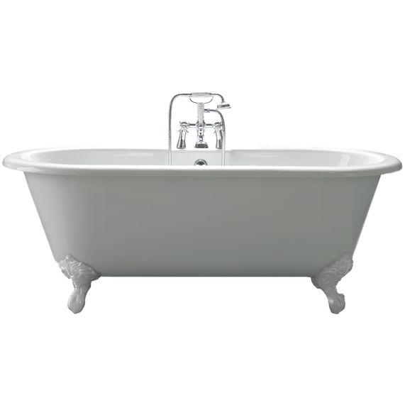 Cambridge Bath With Traditional Resin Feet | bathstore
