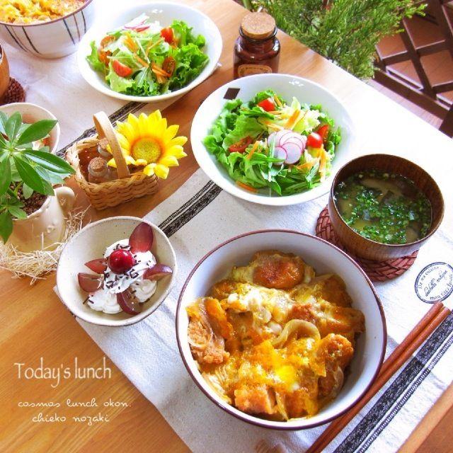 Today's lunchはチキンカツ丼で! お肉が柔らかくて美味しかったぁ〜 - 153件のもぐもぐ - チキンカツ丼〜꒰ •ॢ  ̫ -ॢ๑꒱✩ by 野崎智恵子