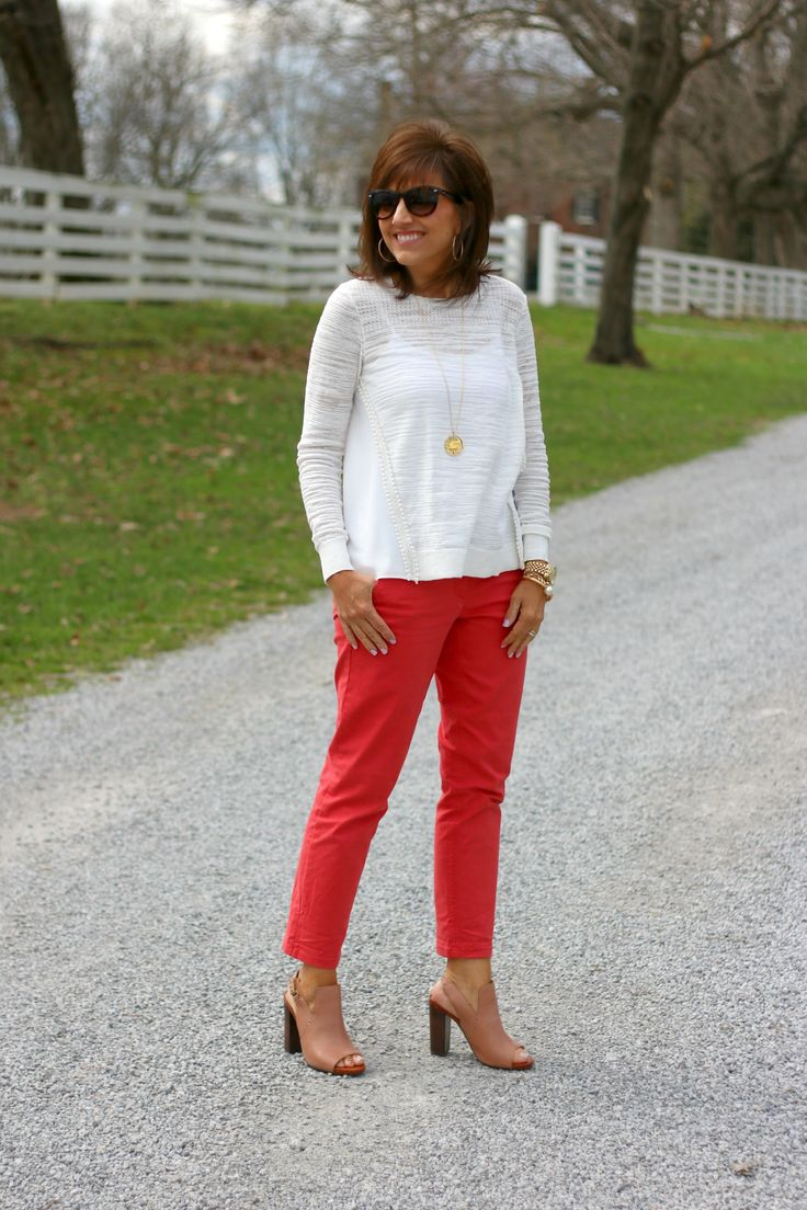 27 Days of Spring Fashion: Work Wear Pant - Grace & Beauty