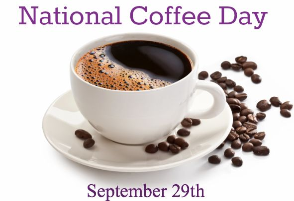 National Coffee Day 2015 lands on Tuesday, September 29th