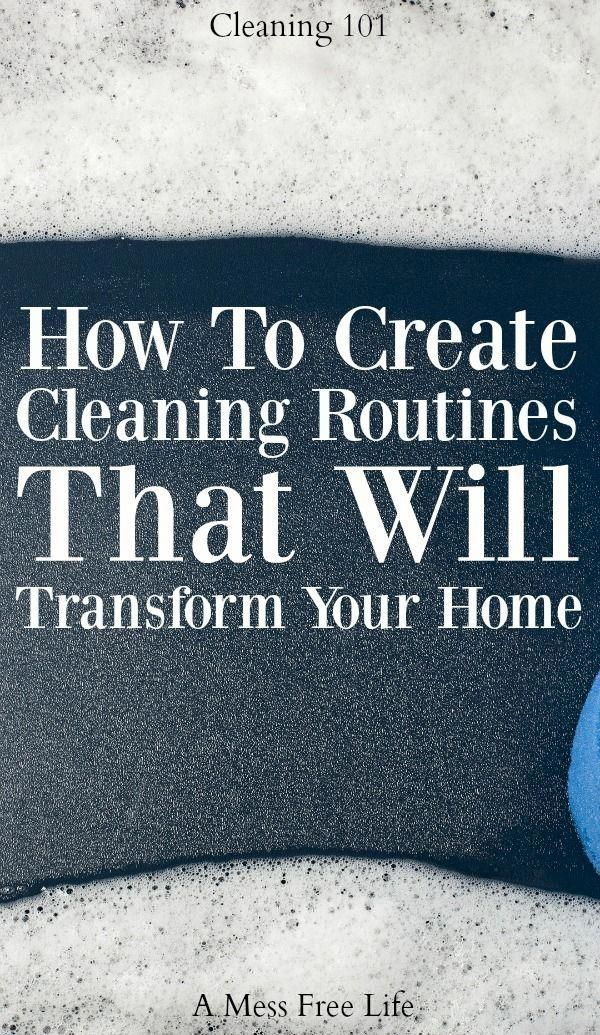 Finally a cleaning routine that will transform your home.  It keeps it cleaner l…