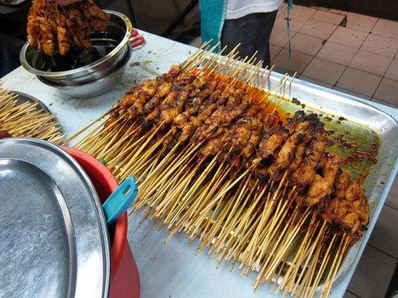 Тайские шашлычки из курицы