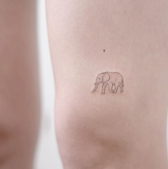 ideas about Tiny Elephant Tattoo on Pinterest | Small elephant tattoos …