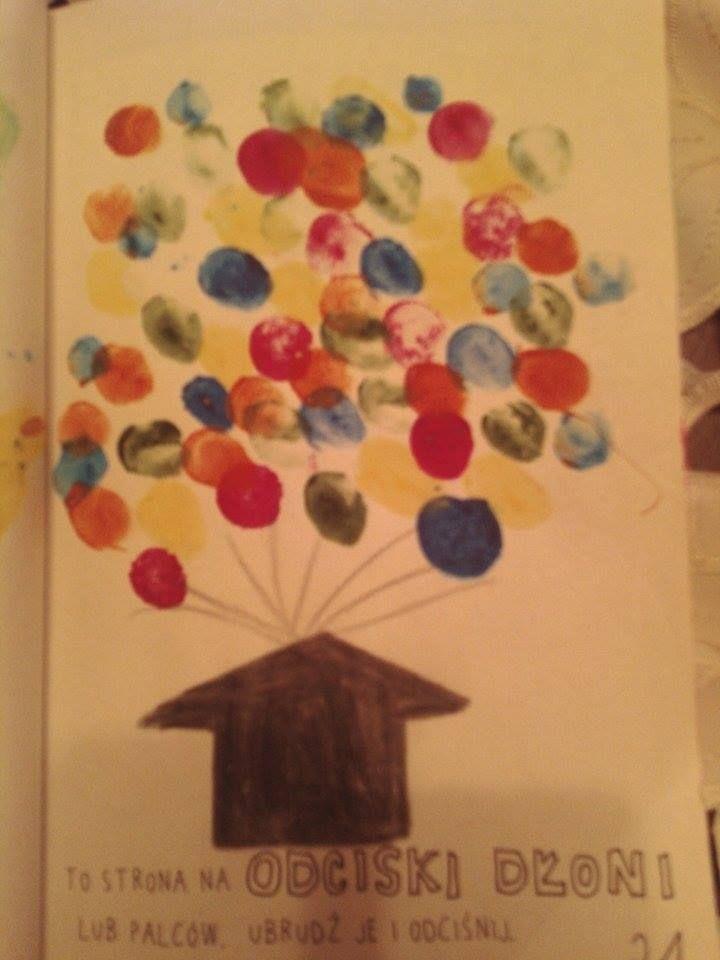 Podesłała Ola Janicka #zniszcztendziennikwszedzie #zniszcztendziennik #kerismith #wreckthisjournal #book #ksiazka #KreatywnaDestrukcja #DIY