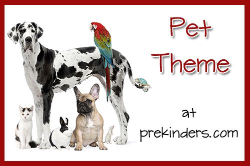 pet theme & printables for preschool Love the cutting strips, play dough dog food bowls and spots in puppy