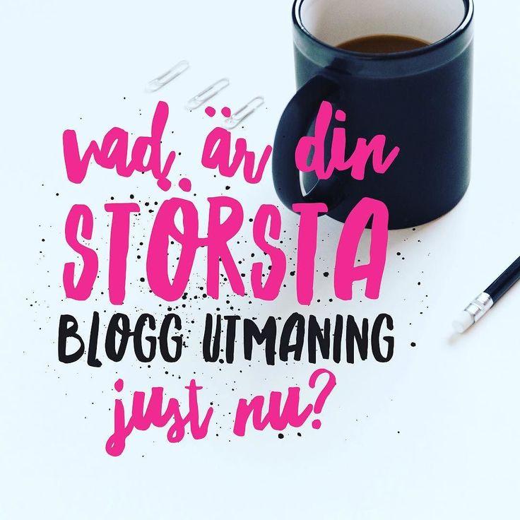 Berätta vad är din största bloggutmaning just nu?  Idag fram till kl 15 har du möjlighet att fråga mig vad som helst om din blogg inne i Facebookgruppen Bloggsucce.  Tagga gärna en företagsvän som du tror kan ha nytta av lite smarta bloggtips.  Bloggtips   Företagare   Marknadasföring   Företagsblogg