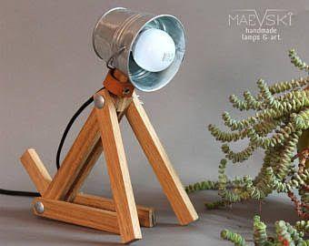 Bildergebnis für wooden lamps