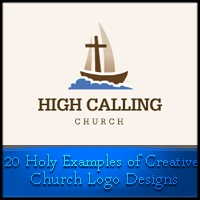 20 Holy Examples of Creative Church Logo Designs