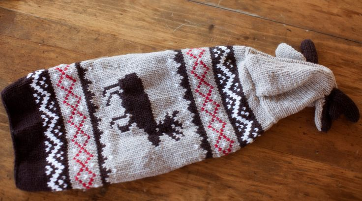 Dog Hoodie, Knit Dog Sweater, designer dog sweater, dog sweater, dog costume - Moose Hoodie Dog Sweater by HandcraftedCrowns on Etsy