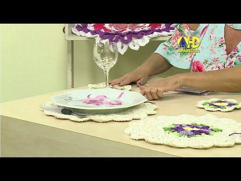 Vida com Arte | Sousplat e porta copos por Cristina Luriko - 08 de Dezem...