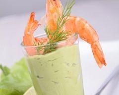 Mousse d'avocats aux crevettes (facile, rapide) - Une recette CuisineAZ