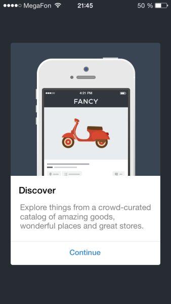 Fancy App alert