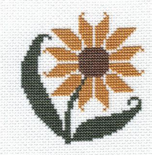 Campbell Creations: Prairie Schooler Garden Blooms - Sunflower
