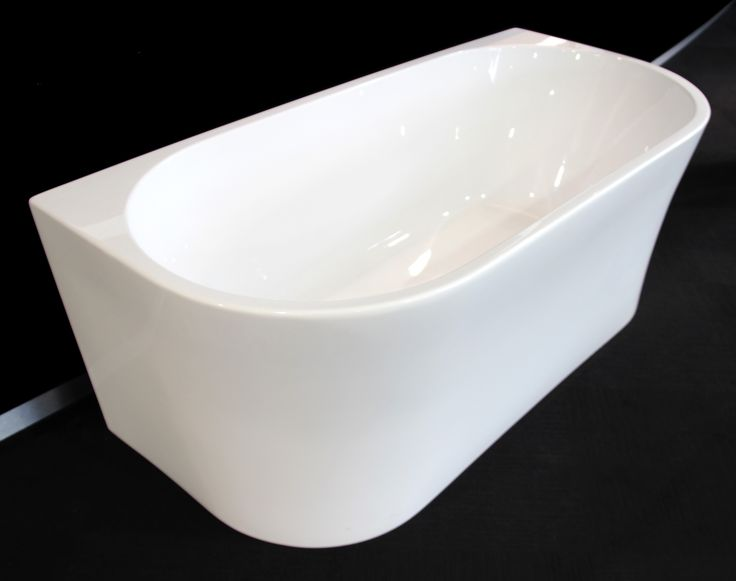 Small Back To Wall Bath Part - 37: The Armanti Back To Wall Freestanding Bath Is The Perfect Solution For A  Freestanding Bath For