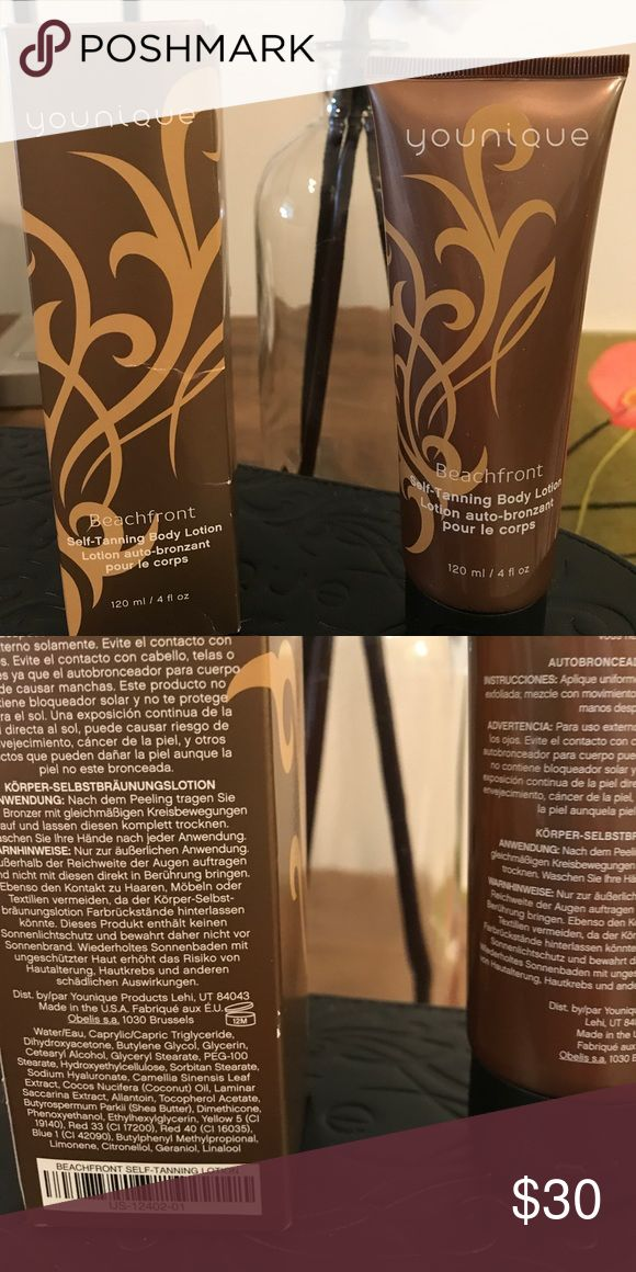 Younique Beachfront self tanning lotion Younique Beachfront Self Tanning Body Lotion 120 ml/4 fl oz Younique Makeup Bronzer