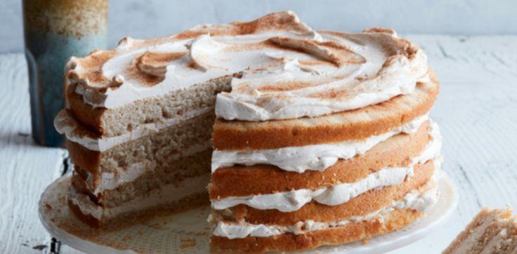 Dieser Kuchen ist köstlich. Es erinnert an meinen Lieblingskeks, den Snickerdoodl …