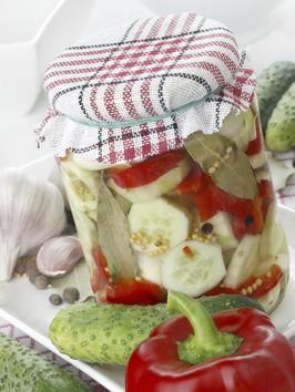 How to Pickle Vegetables - on HGTV My favorite are cauliflower, cucumbers, red onions, and okra. You can use any vegetable that you like.