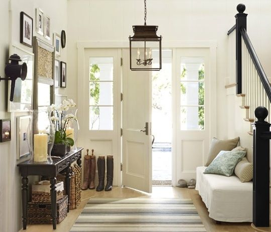 style-ing w/ children: Right Size/Right Location Home - Narrow Entryway