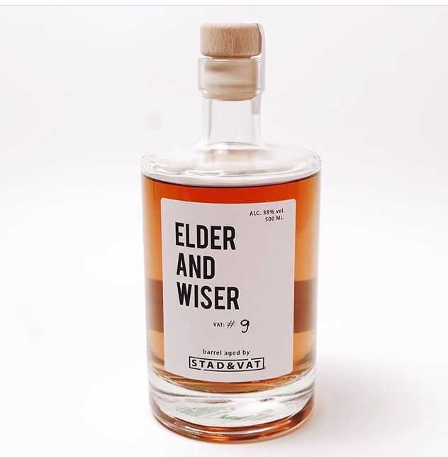 Elder and wiser whiskey. Stad & Vat, Hutspot Amsterdam.