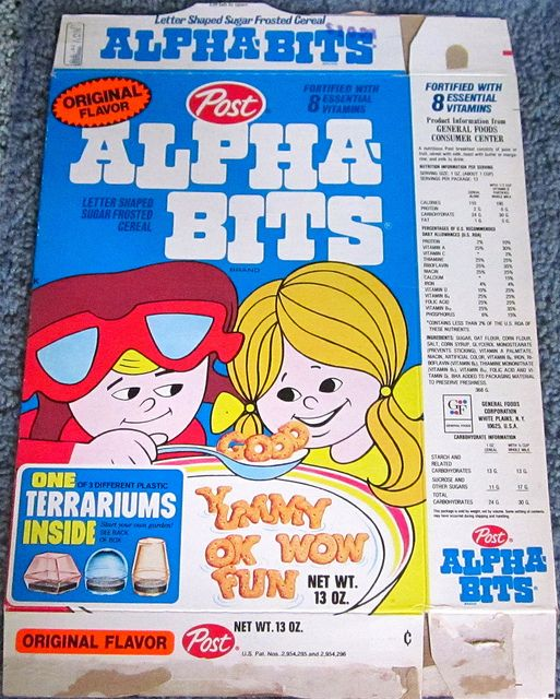 153 Best Images About Alpha Bits On Pinterest