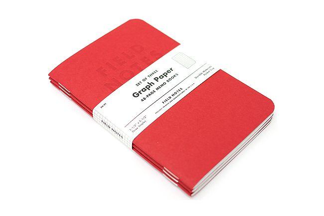 Pack of three graph paper notebooks, $10. JetPens.com
