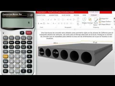 Pasos para Calcular el Volumen de Concreto Necesario en una Losa - YouTube