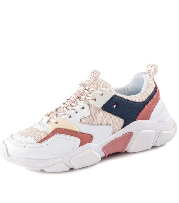 Tommy Hilfiger Chunky Sneaker Trendschuhe In 2020 Sneaker Tommy Hilfiger Schuhe Sneaker Damen