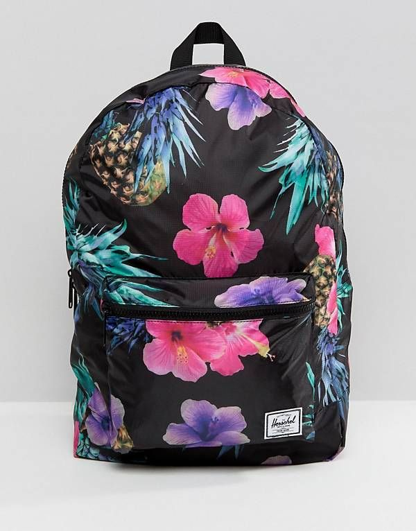 6ec80271fd6 Herschel Supply Co Packable Backpack in Tropical Pineapple Print