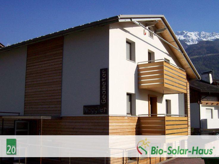 Bilderserie 20 Jahre Bio Solar Haus 2007: Der Erste Haus In Italien Wird