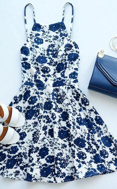 disenos-de-vestidos-para-primavera (8) - Beauty and fashion ideas Fashion Trends, Latest Fashion Ideas and Style Tips