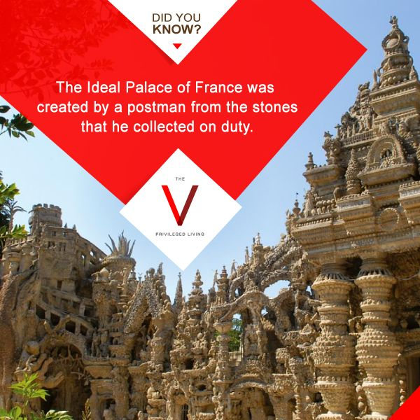A miniature palace of stoned with an astonishing background story. #ArchitectureFacts