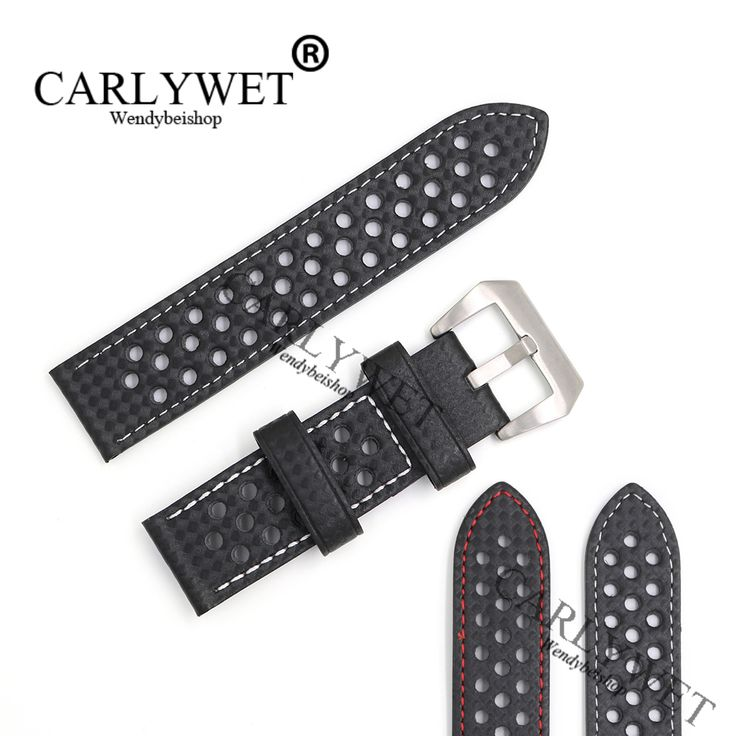 CARLYWET 24mm Hot Real Leather Handmade Replacement Thick Vintage Wrist Watch Band Strap Belt  For Montblanc Disel Panerai. Yesterday's price: US $28.50 (23.40 EUR). Today's price: US $15.68 (12.82 EUR). Discount: 45%.