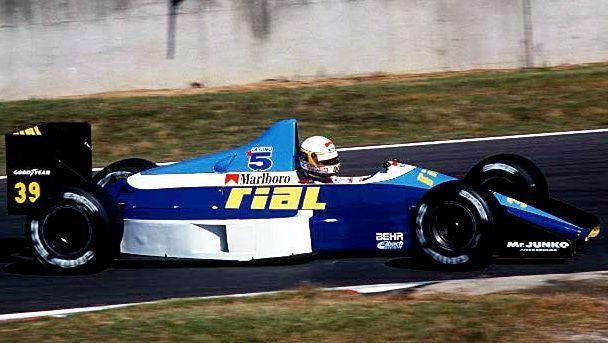 1989 Suzuka Rial ARC2 Bertrand Gachot