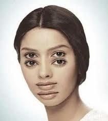 Disturbing visual effect