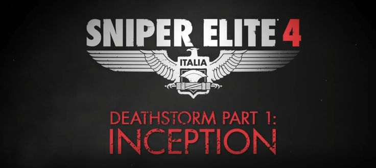 Sniper Elite 4 – Deathstorm Part 1: Inception DLC Free Download PC Full . Sniper Elite 4 – Deathstorm Part 1: Inception DLC game for PC was launched, and we'll give it to you with free download. Download Free Sniper Elite 4 – Deathstorm Part 1: Inception DLC Full Game PC...