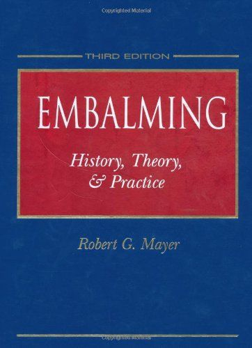 The Principals and Practices of Embalming by Robert G. Mayer http://www.amazon.com/dp/0838521878/ref=cm_sw_r_pi_dp_uHkyub1MDF70V