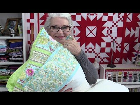 Quick and easy pillow case with an additional flap that covers the pillow completely. You can make this to custom fit your pillow.