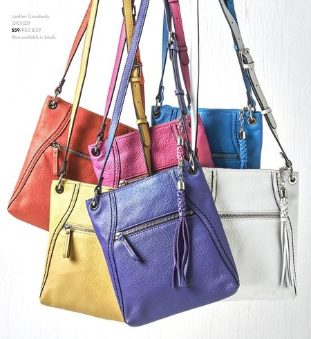 April Brochure | Danier - one in every colour would be nice!