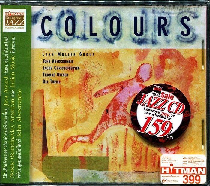 LARS MOLLER: Colours / John Abercrombie  RARE JAZZ CD (Obi strip) #AvantgardeFreeJazzBebopElectricJazz