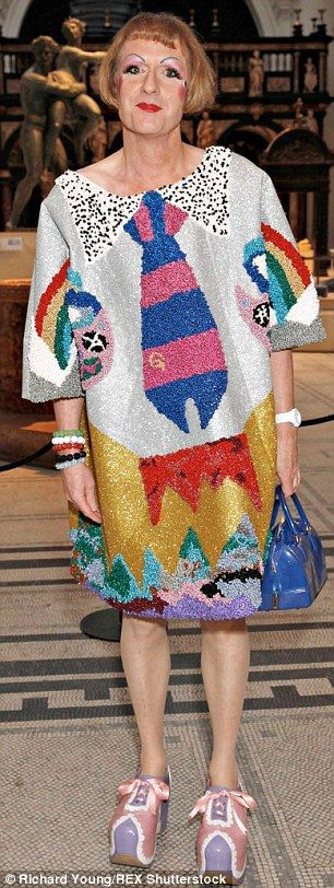Family rift: Cross-dresser Grayson Perry has changes his phone number after his mother tried to make contact