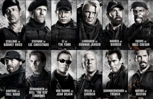 The Expendables 2 - Do I have to explain why I want to see a movie with Chuck Norris, Arnold Schwarzenegger, Bruce Willis, Jean Claude Van Damme and Silvester Stallone in it? Yeah, guys understand...