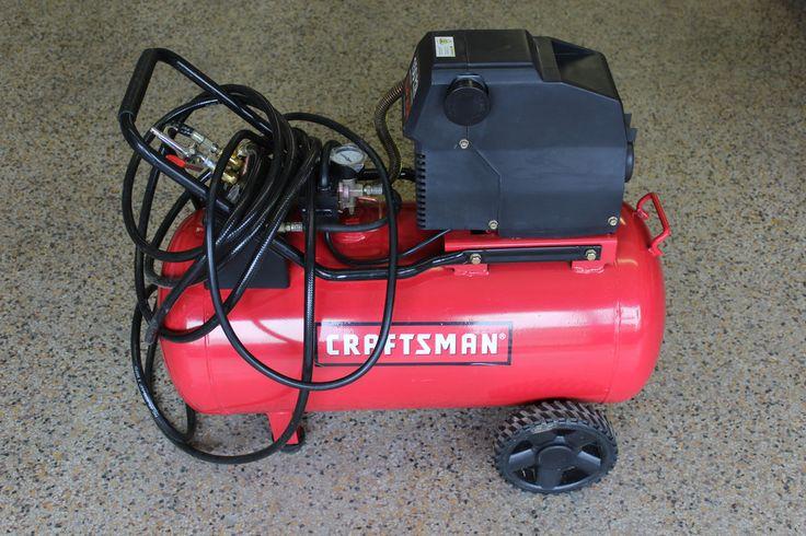 Craftsman Air Compressor 20 Gallon 1.5 HP 150 Max PSI Oil Free Portable Horizontal