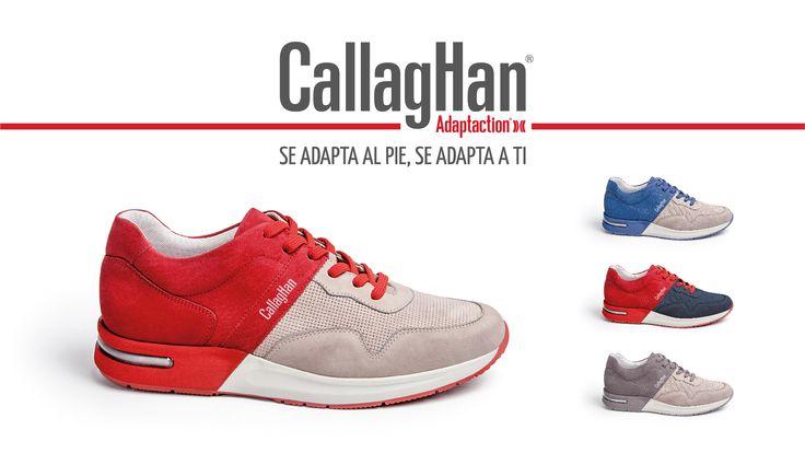 Nuevos Callaghan Goliat para Hombre ♂ Máximo confort gracias a su innovadora tecnología Adaptaction  Disponibles en tres colores ➡ gbbravo.com   Envíos gratuitos!